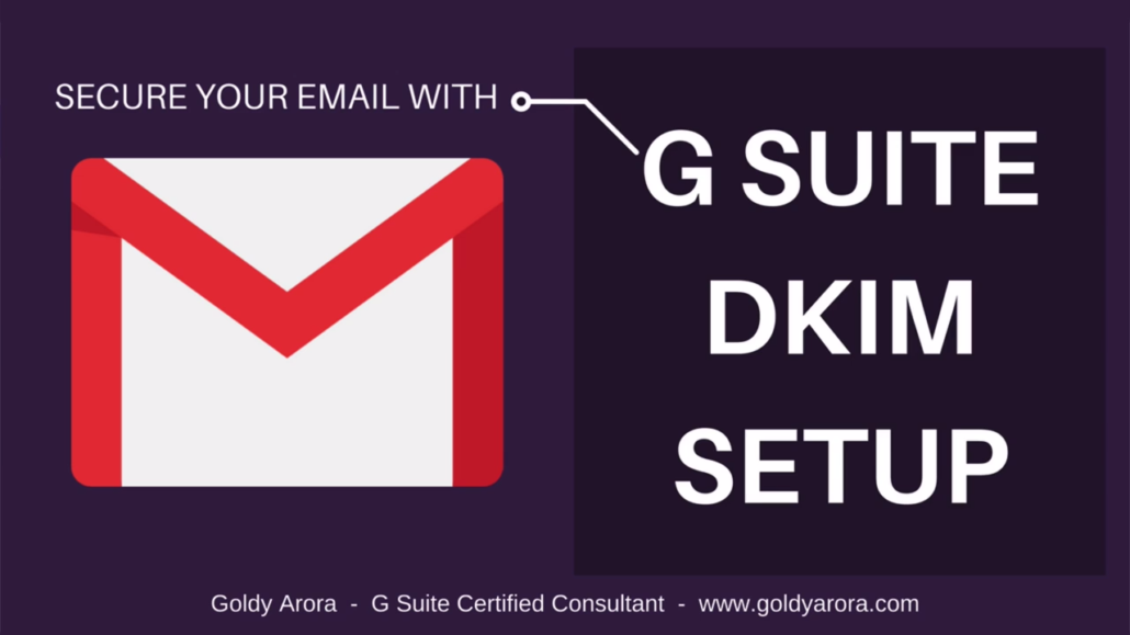 Setup Google Workspace DKIM