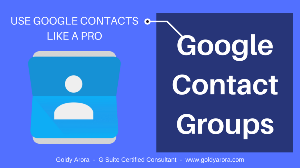 Google Contact Groups - Overview