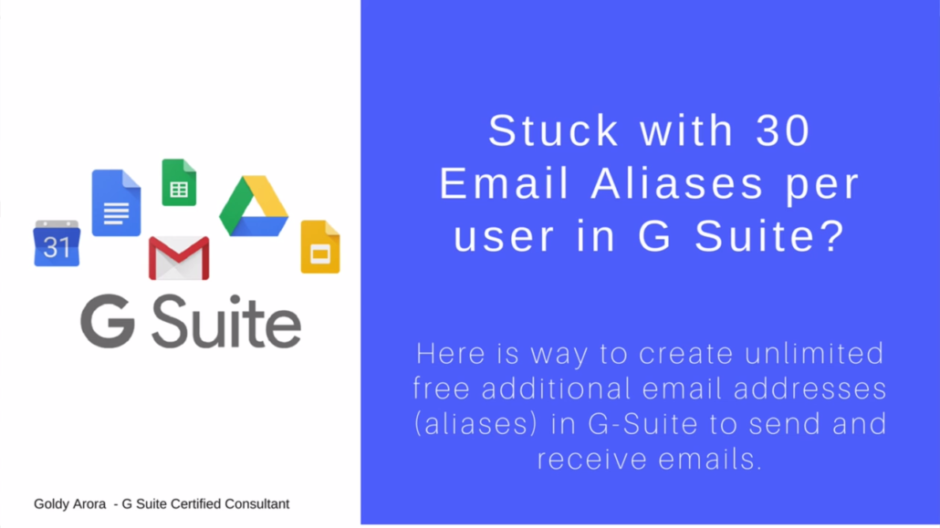 How to create more than 30 email aliases in Google Workspace