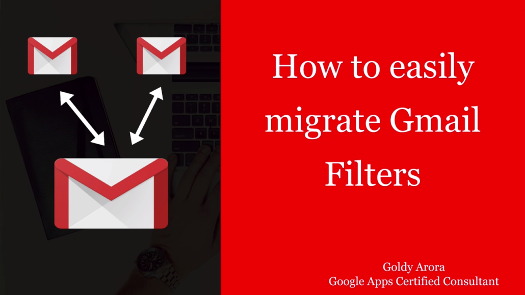 migrate gmail filters
