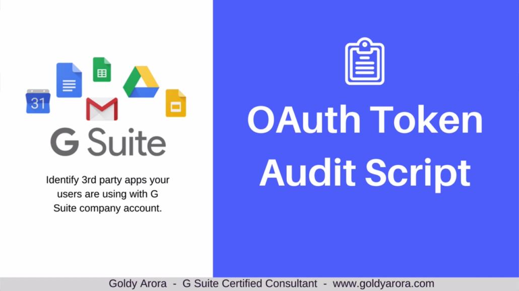 Google Workspace OAuth Token Audit