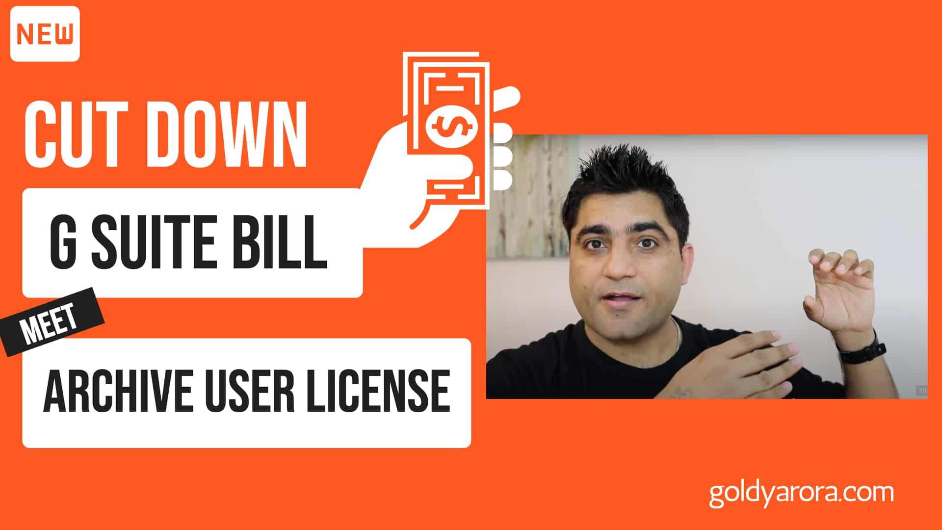 Cut down your Google Workspace bill with archive user license