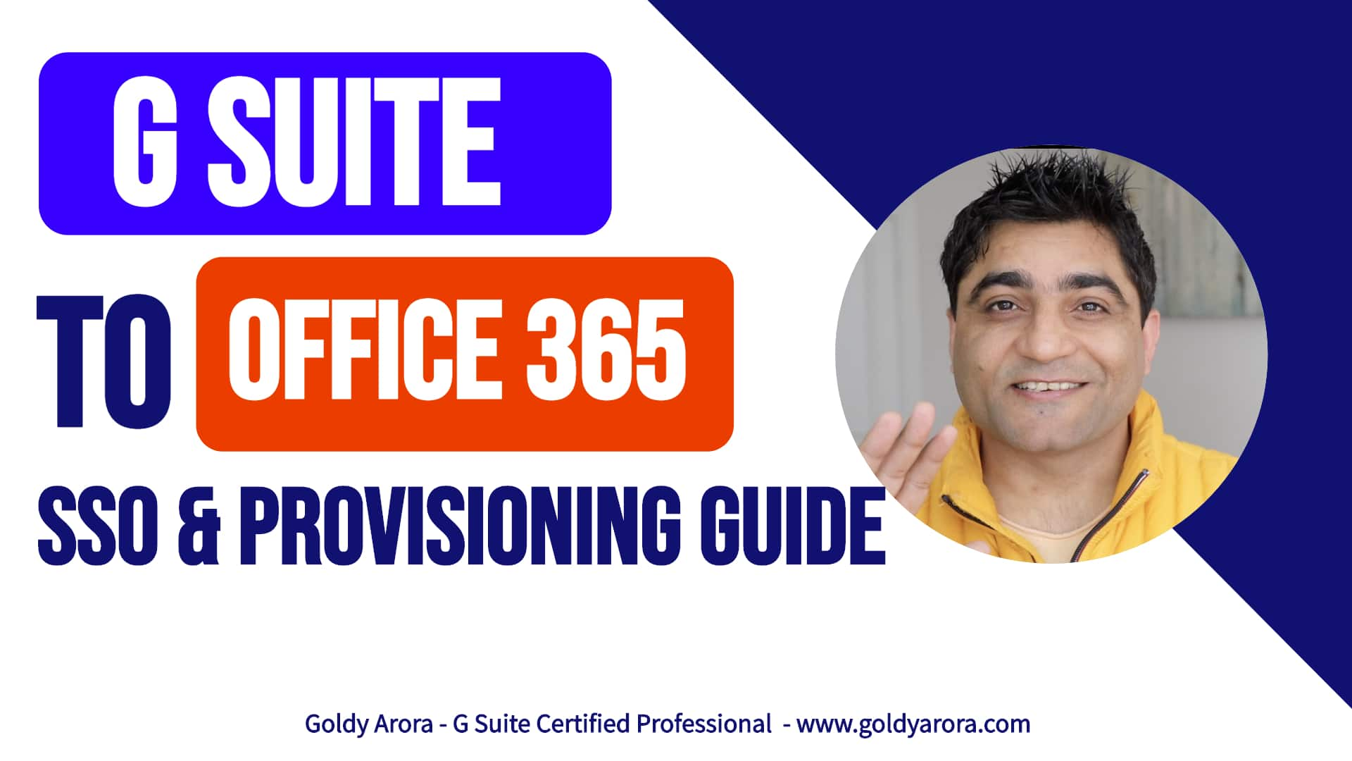 Google Workspace to Office 365 SSO & Provisioning Guide