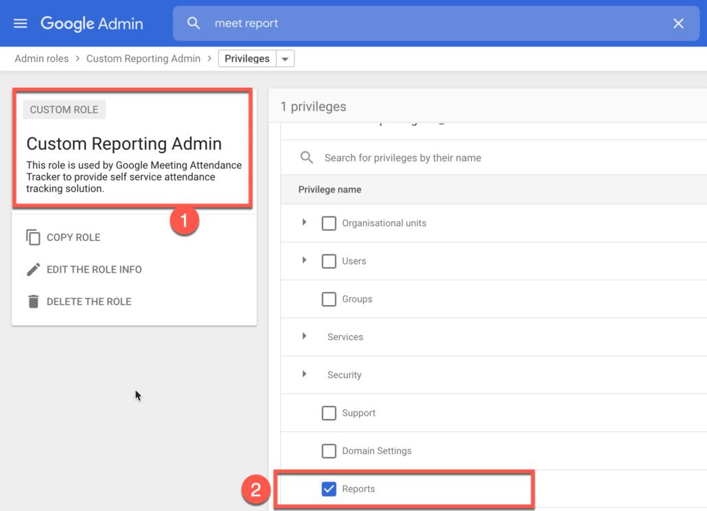 2. Create a custom Google Workspace Admin Role