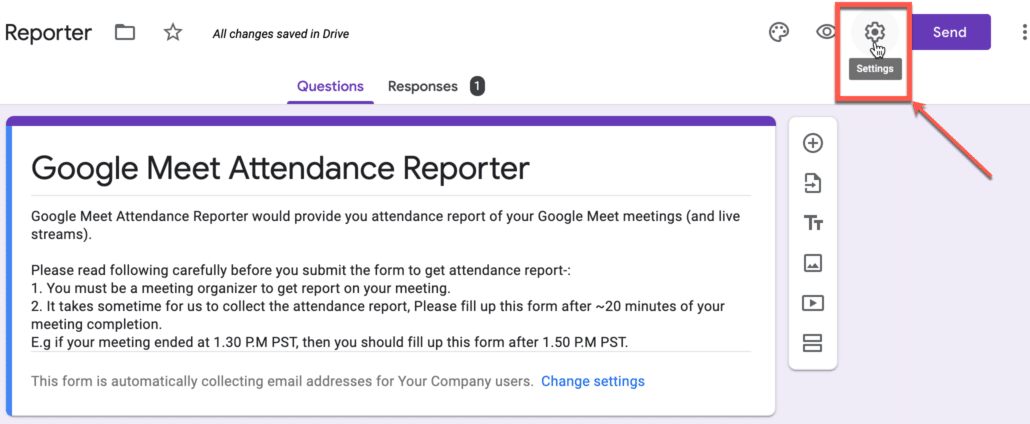 9. Change your google form settings.png