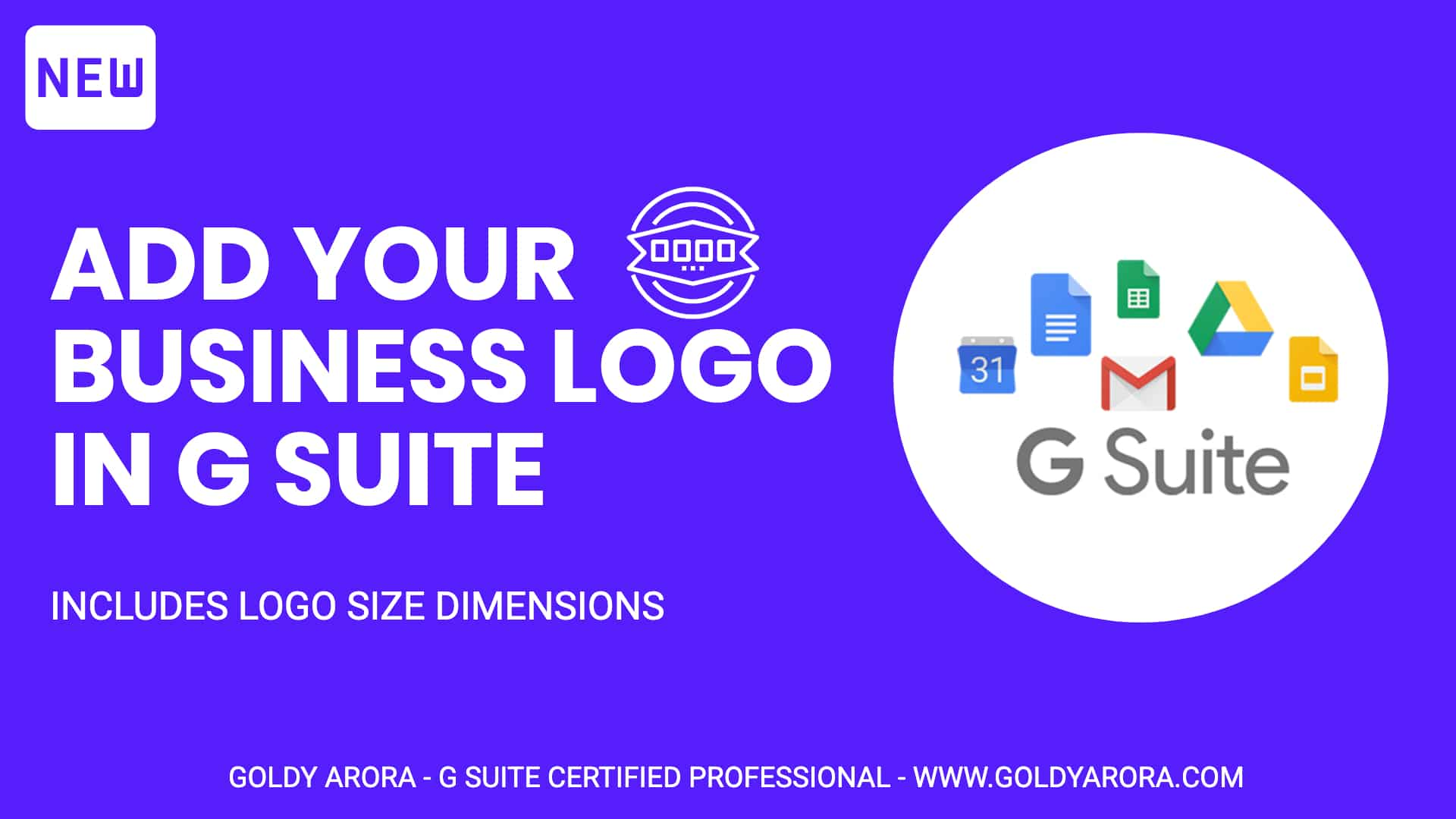 Add Your business logo in Google Workspace (includes size dimensions)