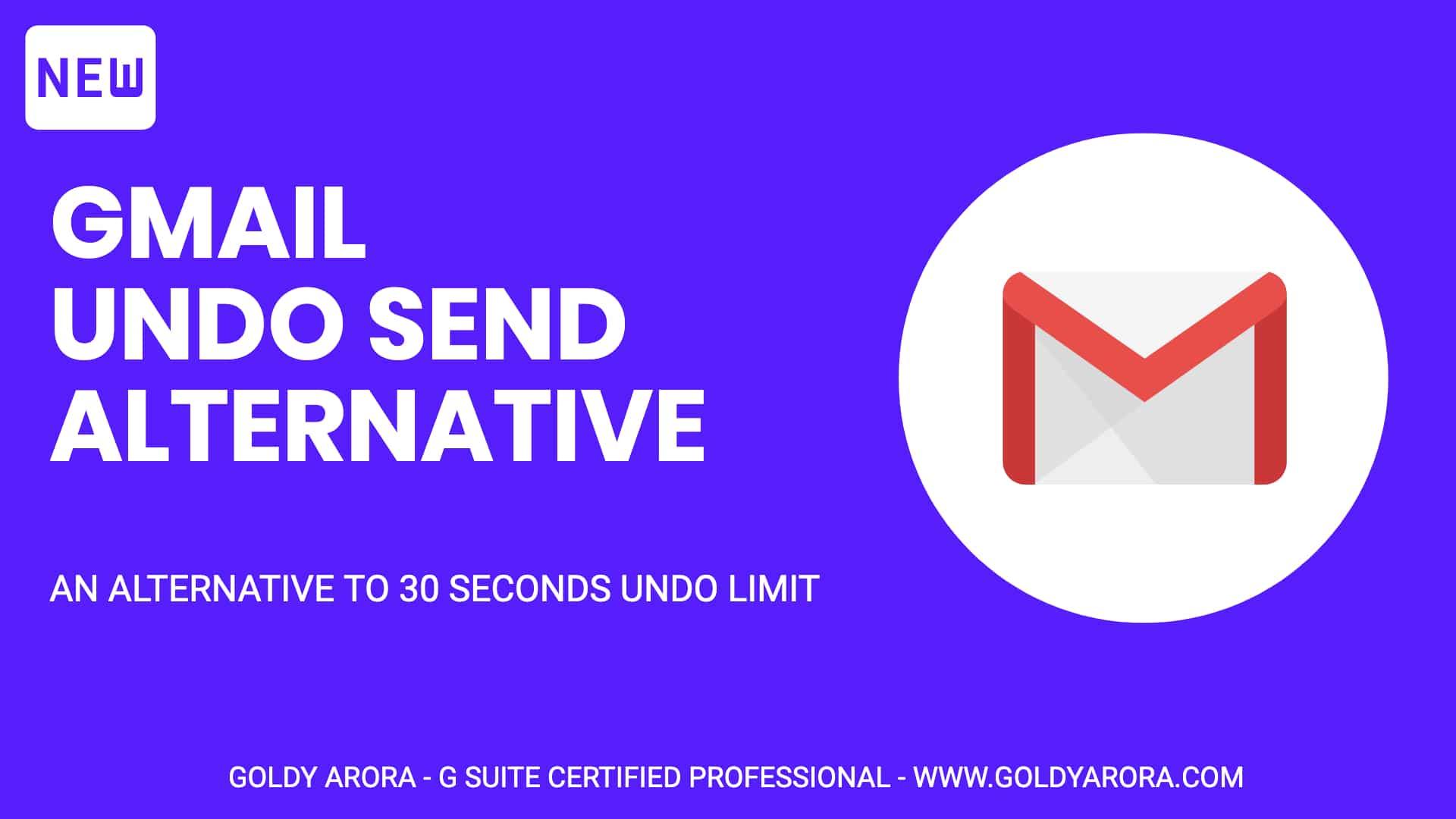 Gmail Undo Send Alternative