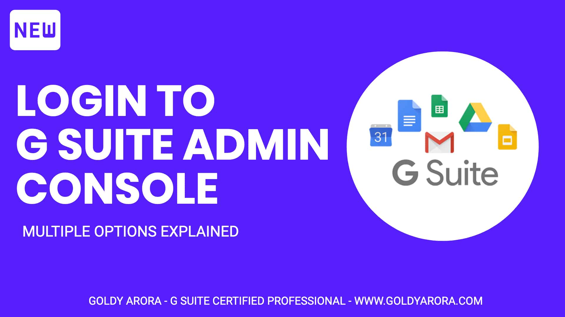 How to login to Google Workspace Admin console