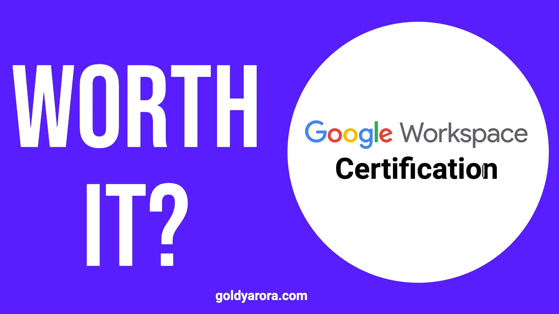Google Workspace Certification - Is it worth it?